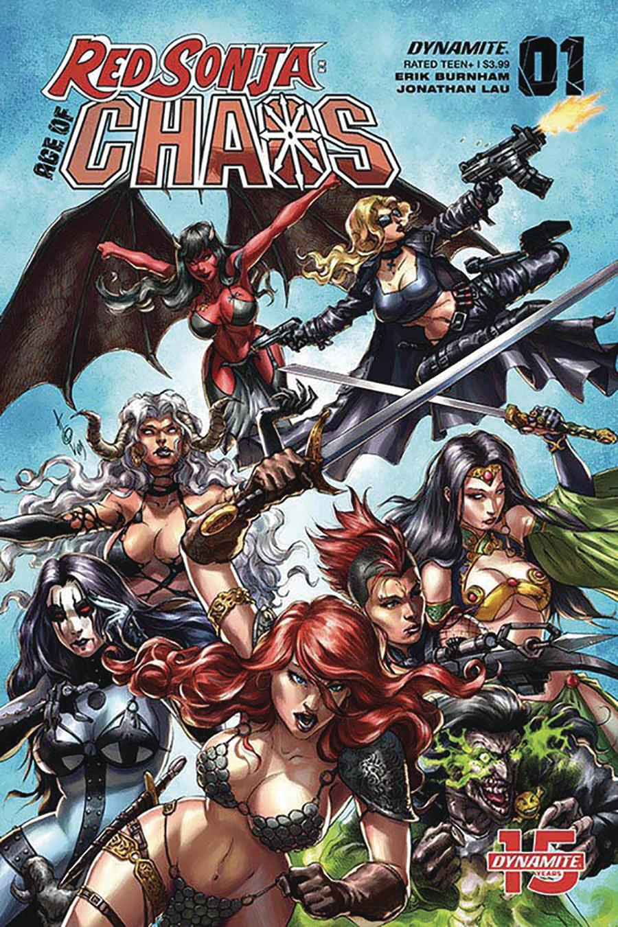 Red Sonja Age Of Chaos #1 Cover B Variant Alan Quah Cover