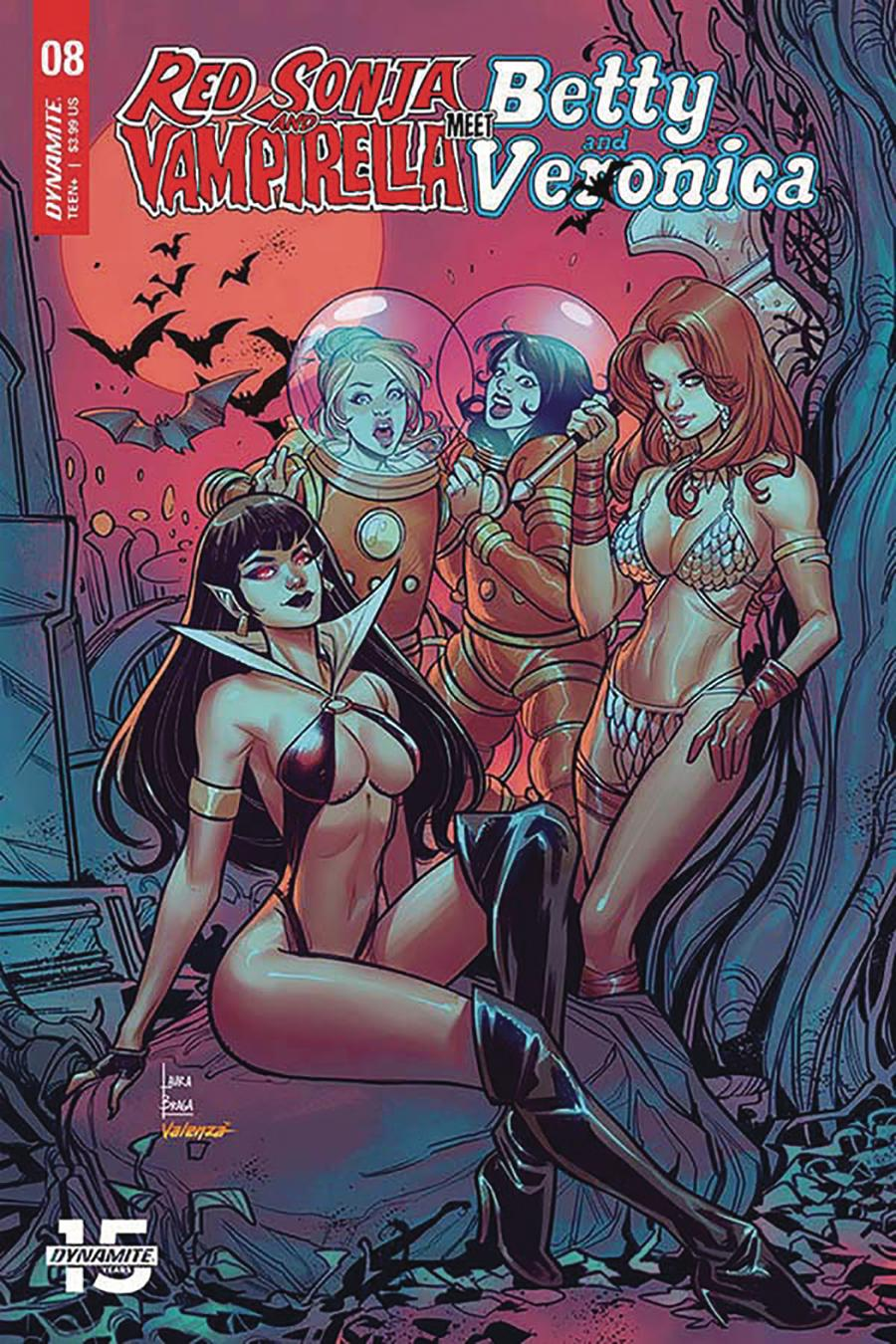 Red Sonja And Vampirella Meet Betty And Veronica #8 Cover C Variant Laura Braga Cover