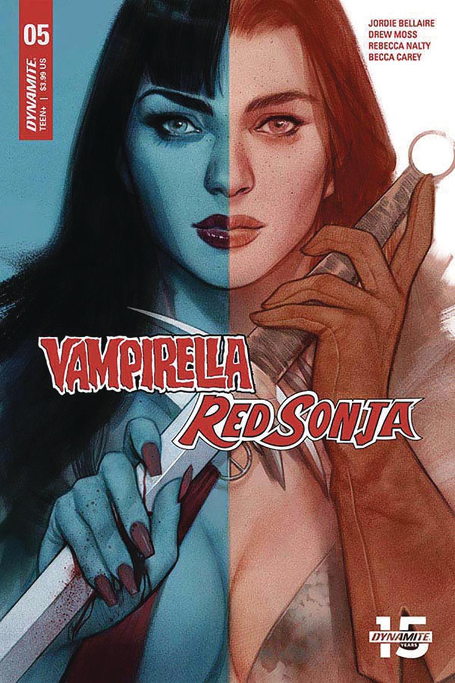 Vampirella Red Sonja #5 Cover C Variant Ben Oliver Cover