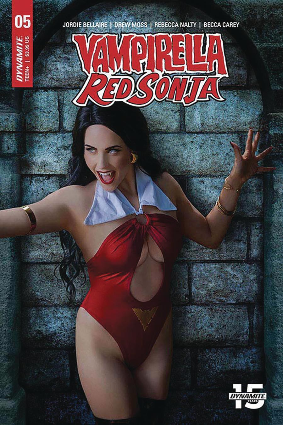 Vampirella Red Sonja #5 Cover E Variant Shannon Kingston Cosplay Photo Cover
