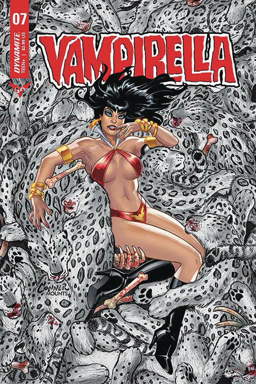 Vampirella Vol 8 #7 Cover A Regular Amanda Conner Cover