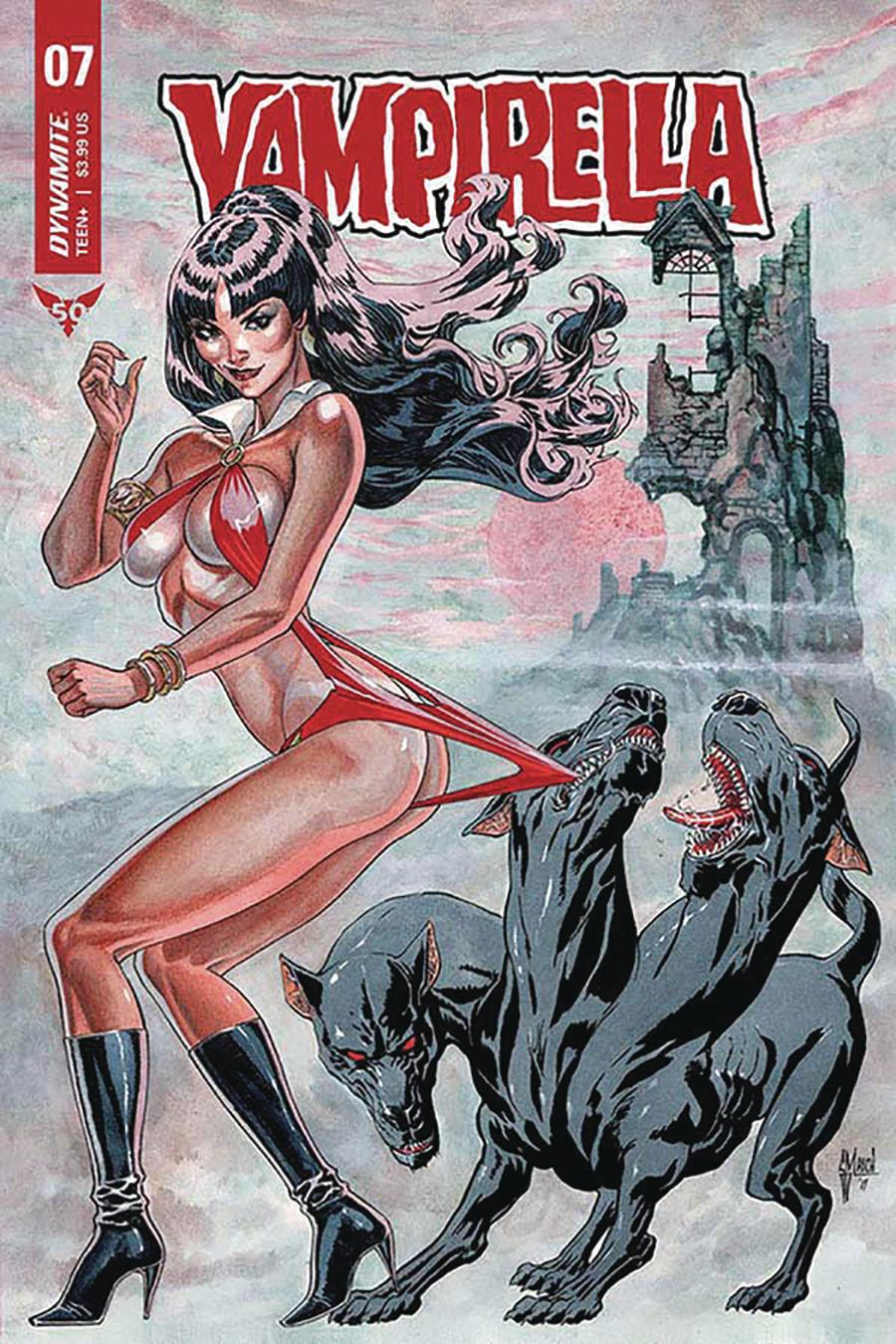 Vampirella Vol 8 #7 Cover B Variant Guillem March Cover