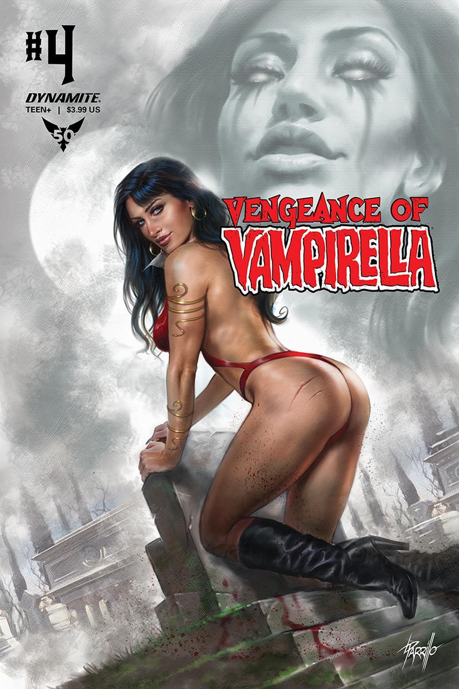 Vengeance Of Vampirella Vol 2 #4 Cover A Regular Lucio Parrillo Cover
