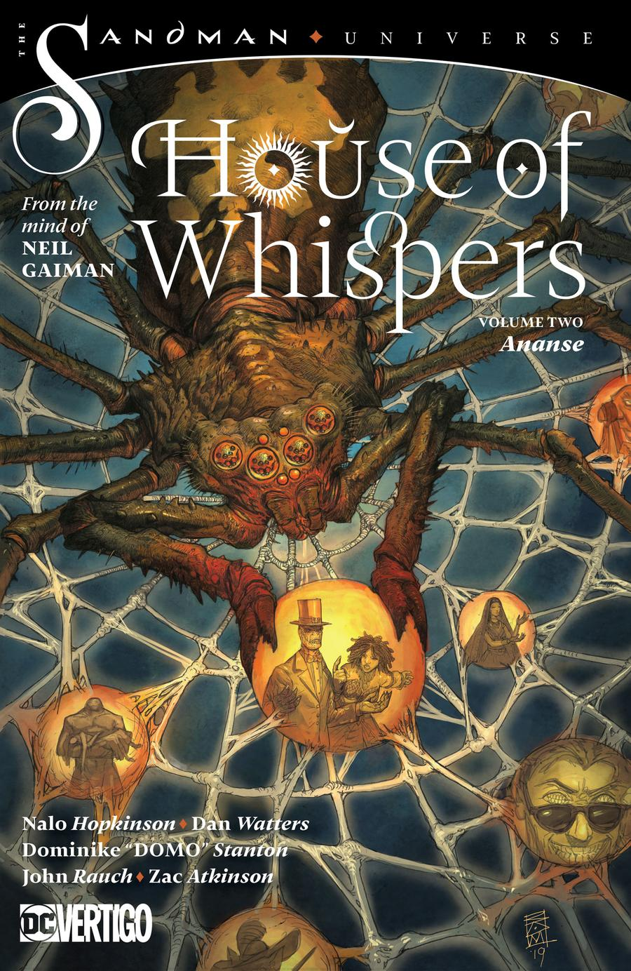 House Of Whispers Vol 2 Ananse TP