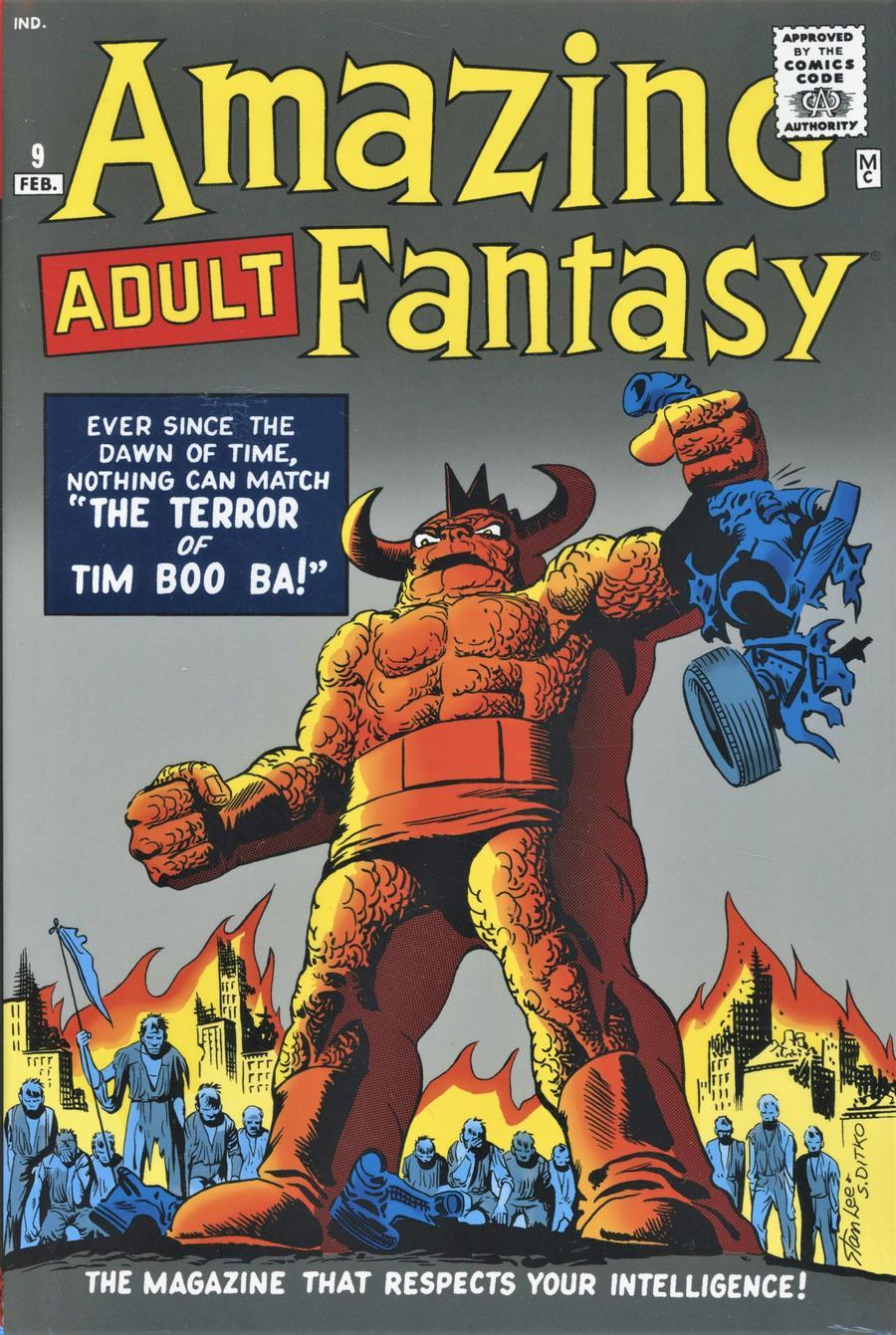 Amazing Fantasy Omnibus HC Book Market Steve Ditko Cover New Printing
