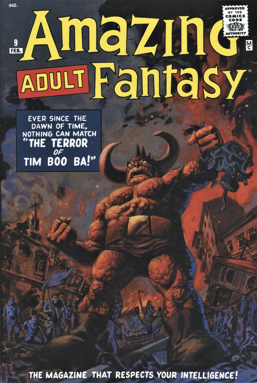 Amazing Fantasy Omnibus HC Direct Market Dan Brereton Variant Cover New Printing