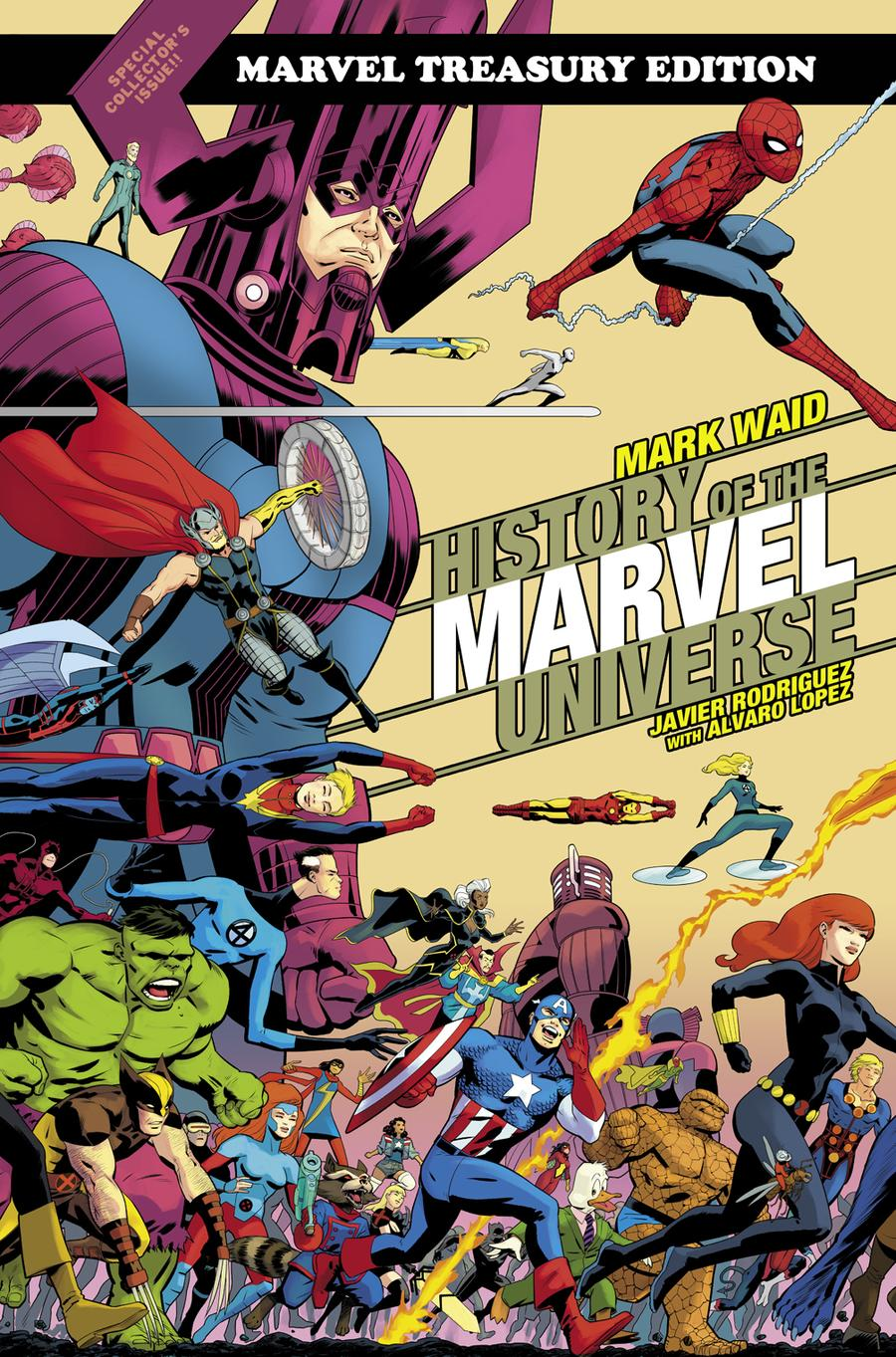 19 History Of The Marvel Universe Treasury Edition TP Direct Market ...