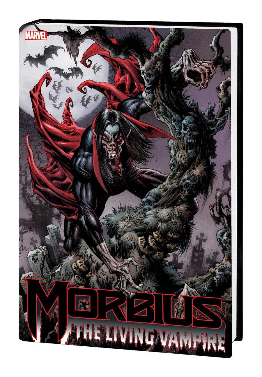 Morbius The Living Vampire Omnibus HC Book Market Kyle Hotz Cover