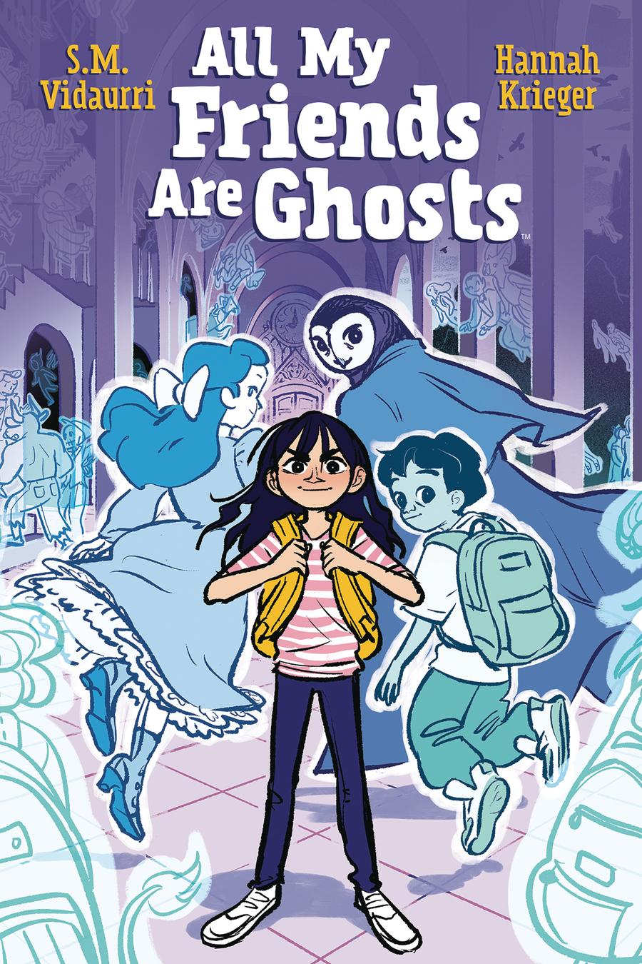 All My Friends Are Ghosts Original Graphic Novel TP