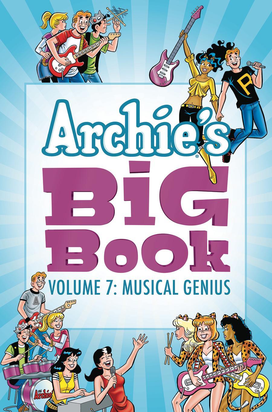 Archies Big Book Vol 7 Musical Genius TP