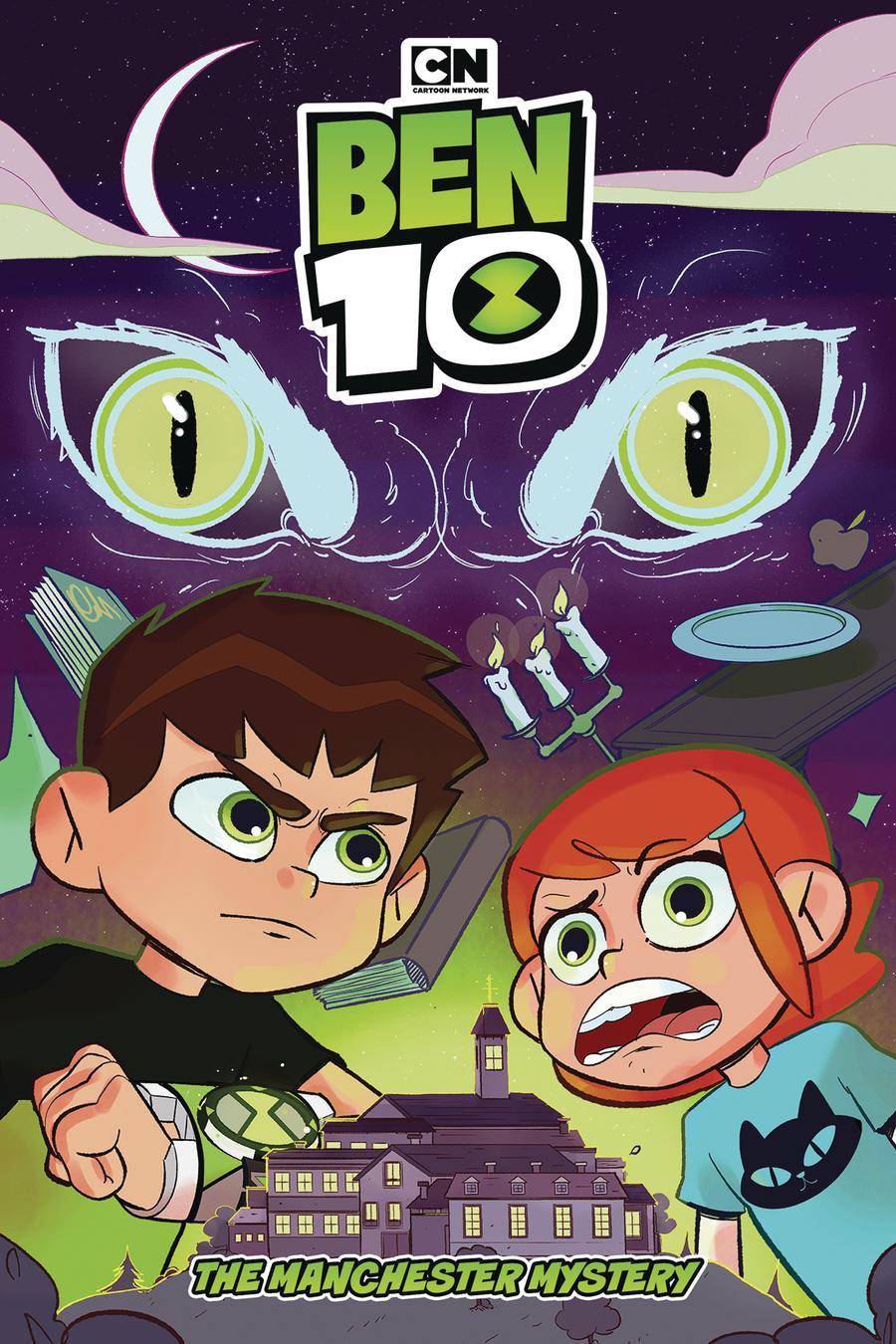 Ben 10 Original Graphic Novel Manchester Mystery TP