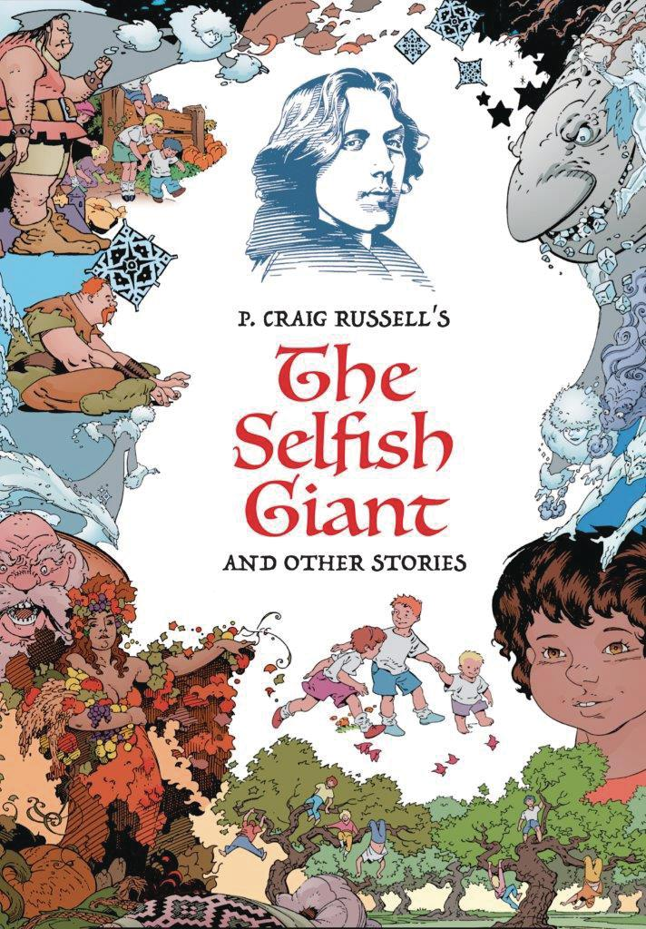P Craig Russells Selfish Giant And Other Stories Fine Art Edition HC Signed & Numbered Edition