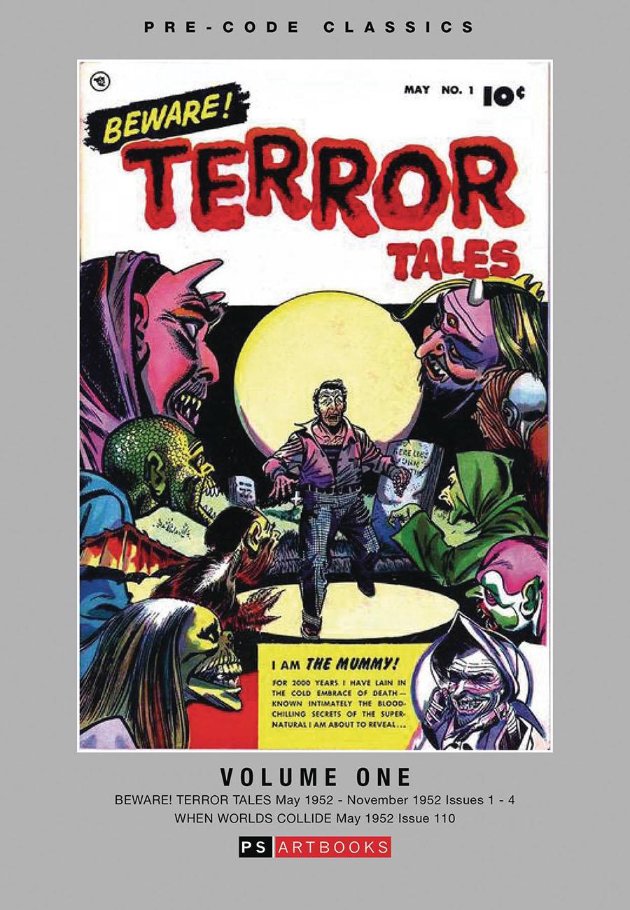 Pre-Code Classics Beware Terror Tales Vol 1 HC