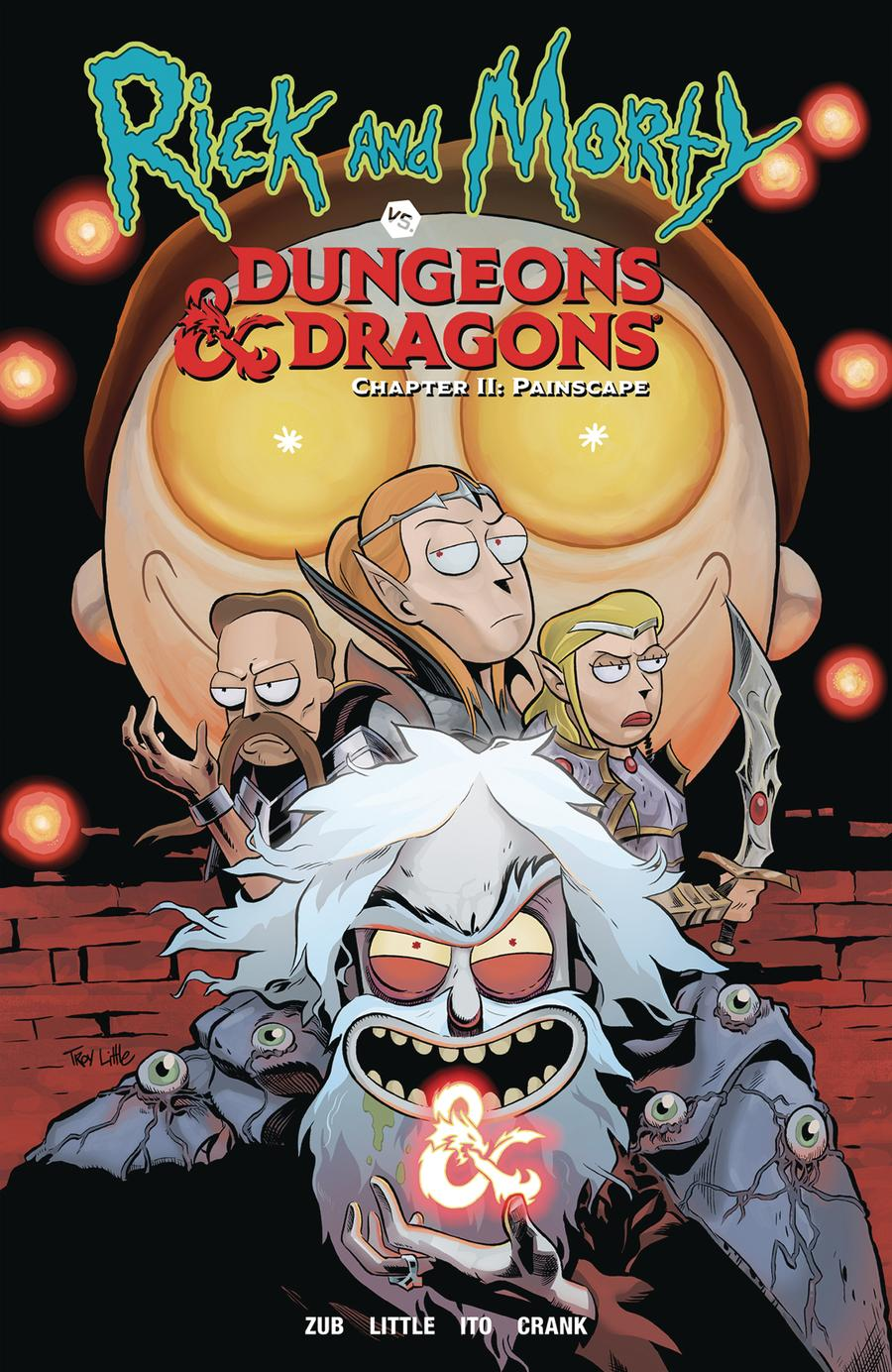 Rick And Morty vs Dungeons & Dragons Chapter II Painscape TP