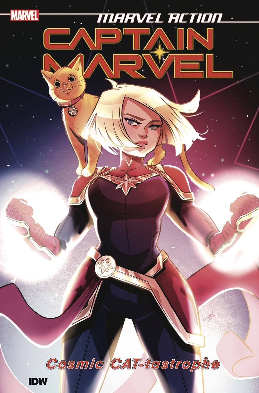 Marvel Action Captain Marvel Book 1 Cosmic Cat-Tastrophe TP