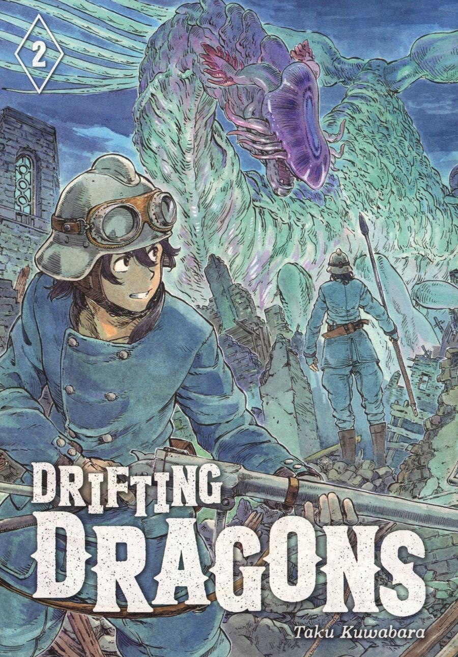 Drifting Dragons Vol 2 GN