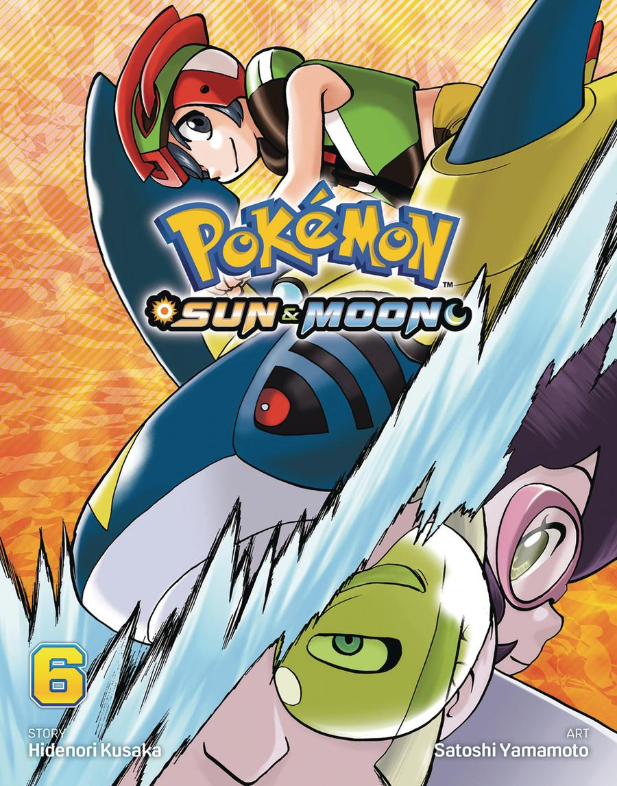Pokemon Sun & Moon Vol 6 GN
