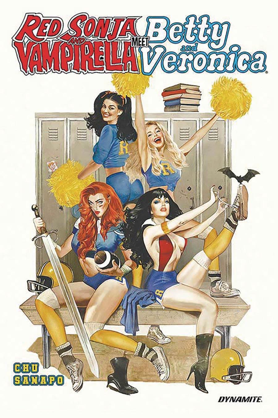 Red Sonja And Vampirella Meet Betty And Veronica Vol 1 TP