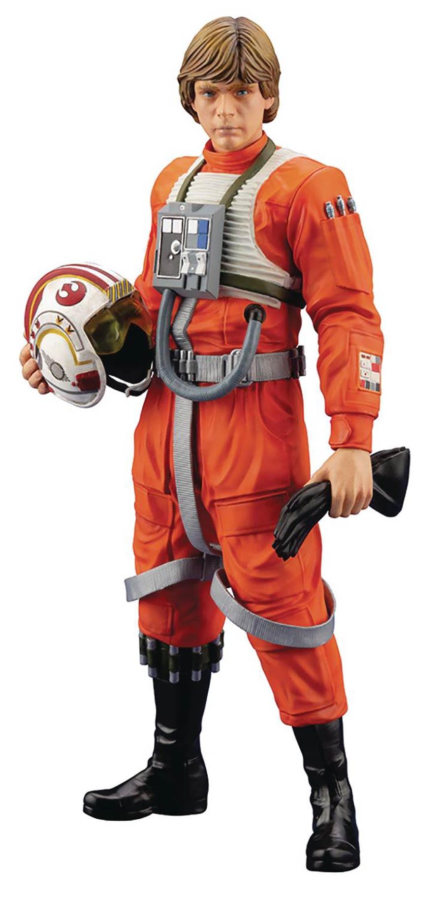 Star Wars Luke Skywalker X-Wing Pilot ARTFX Plus Statue