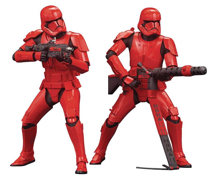 Star Wars Sith Trooper ARTFX Plus 2-Pack Statue