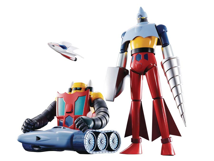 Soul Of Chogokin GX-91 Getter 2 & 3 (Television Anime Ver.) Dynamic Classics Die-Cast Action Figure