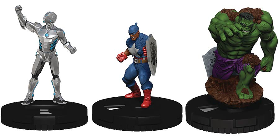 Marvel HeroClix Captain America And The Avengers Booster Brick of 10 Booster Packs