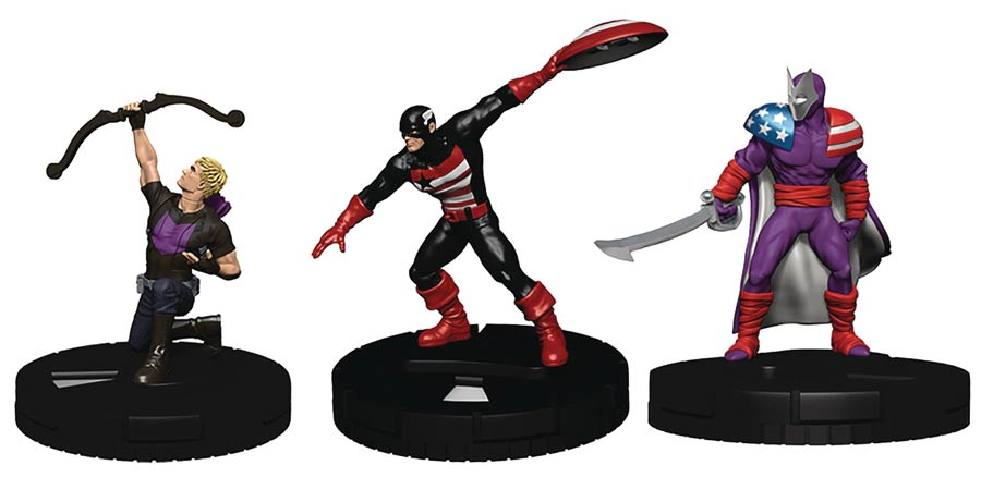 Marvel HeroClix Captain America And The Avengers Fast Forces