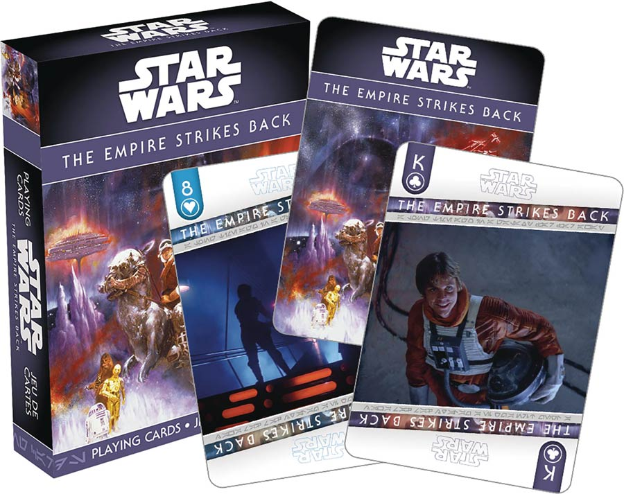 Star Wars Playing Cards - Episode V The Empire Strikes Back