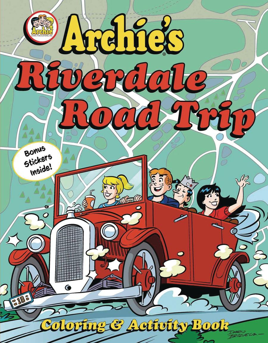 Archies Riverdale Road Trip Activity Book TP