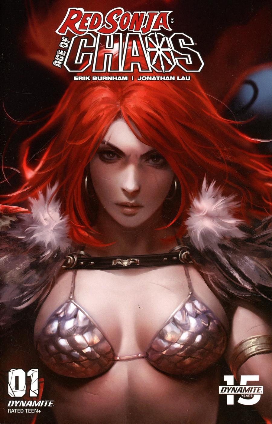 Red Sonja Age Of Chaos #1 Cover K Incentive Derrick Chew Sneak Peek Color Variant Cover
