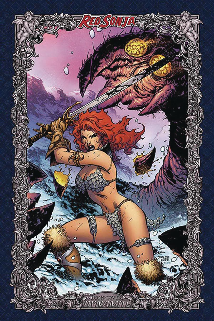 Red Sonja Age Of Chaos #1 Cover W Incentive Jim Lee Icon Edition Variant Cover