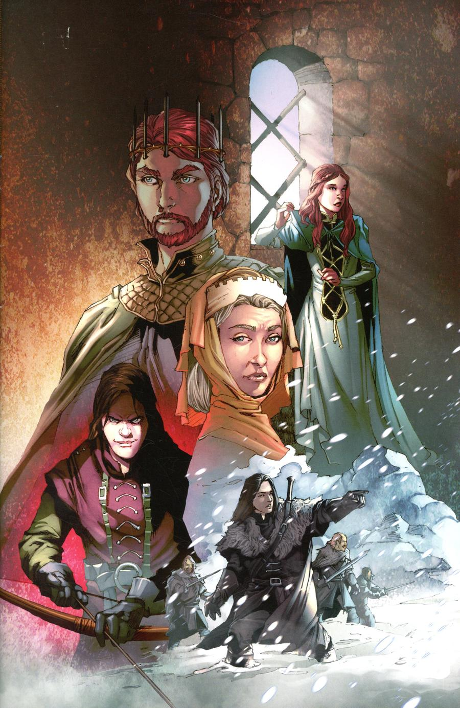 Game Of Thrones Clash Of Kings Vol 2 #1 Cover E Incentive Mel Rubi Virgin Cover