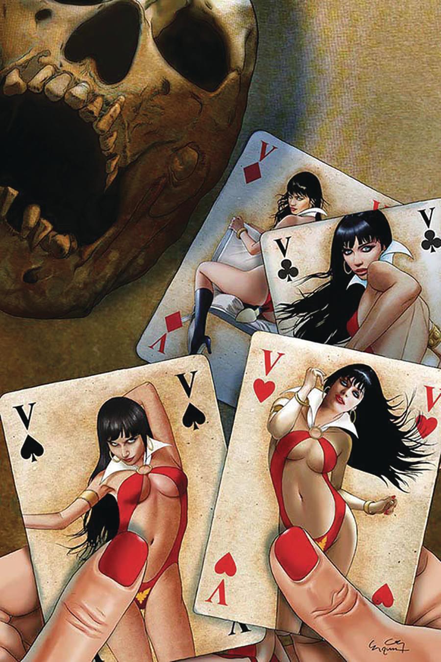 Vampirella Vol 8 #7 Cover O Incentive Ergun Gunduz Virgin Cover