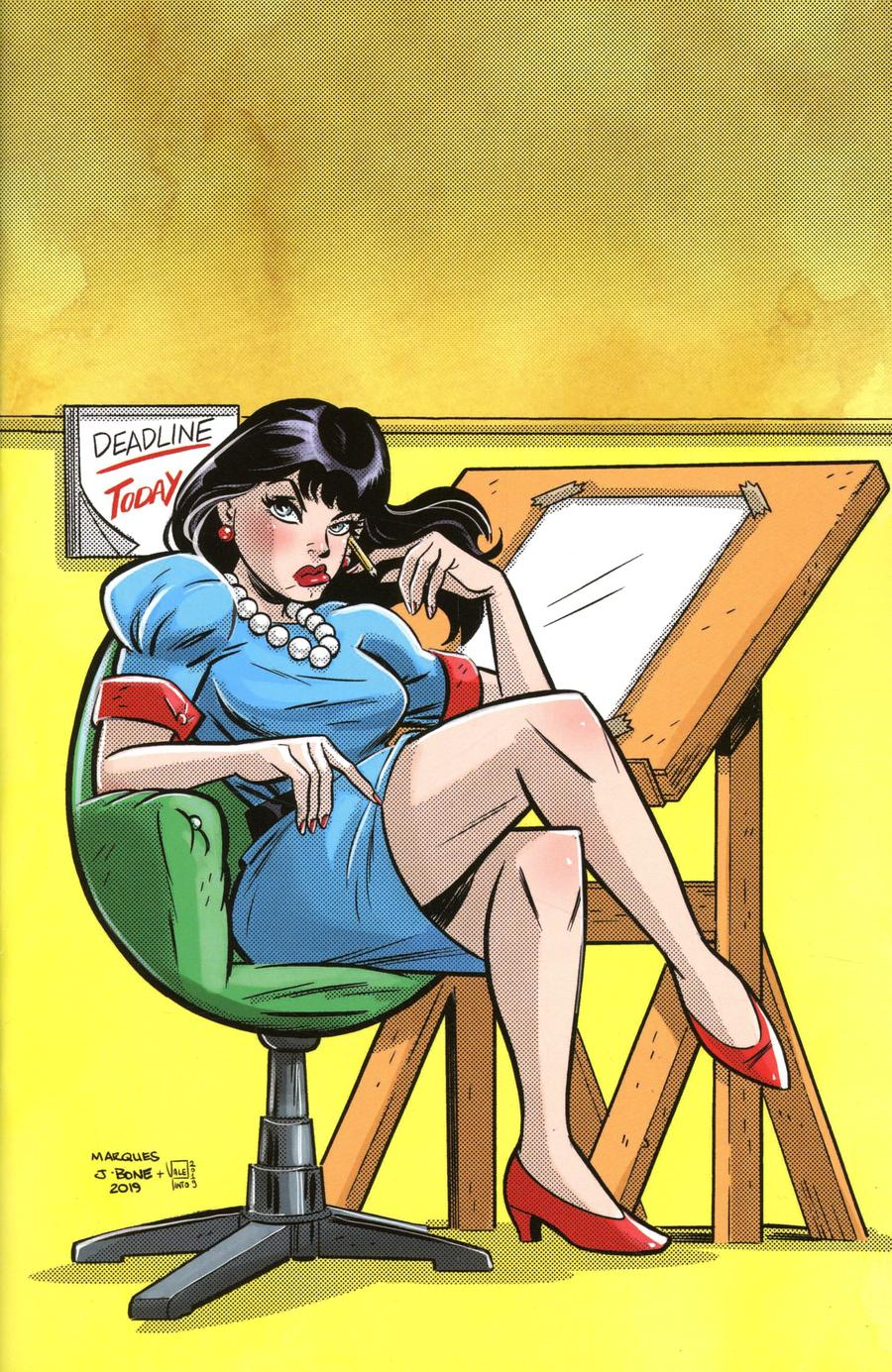 Bettie Page Unbound #10 Cover L Incentive Anthony Marques Virgin Cover