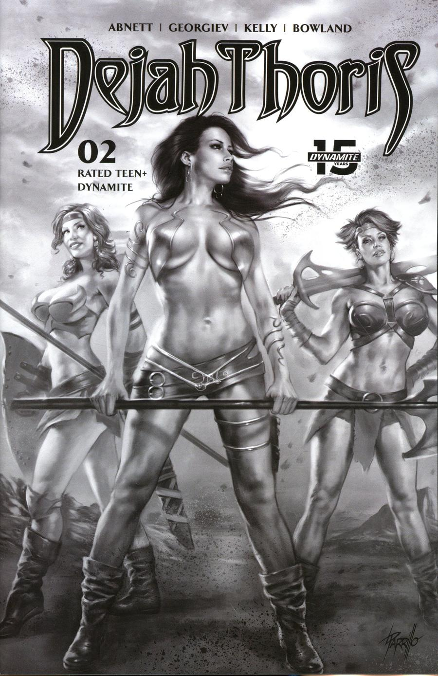 Dejah Thoris Vol 3 #2 Cover H Incentive Lucio Parrillo Pencil Sketch Cover