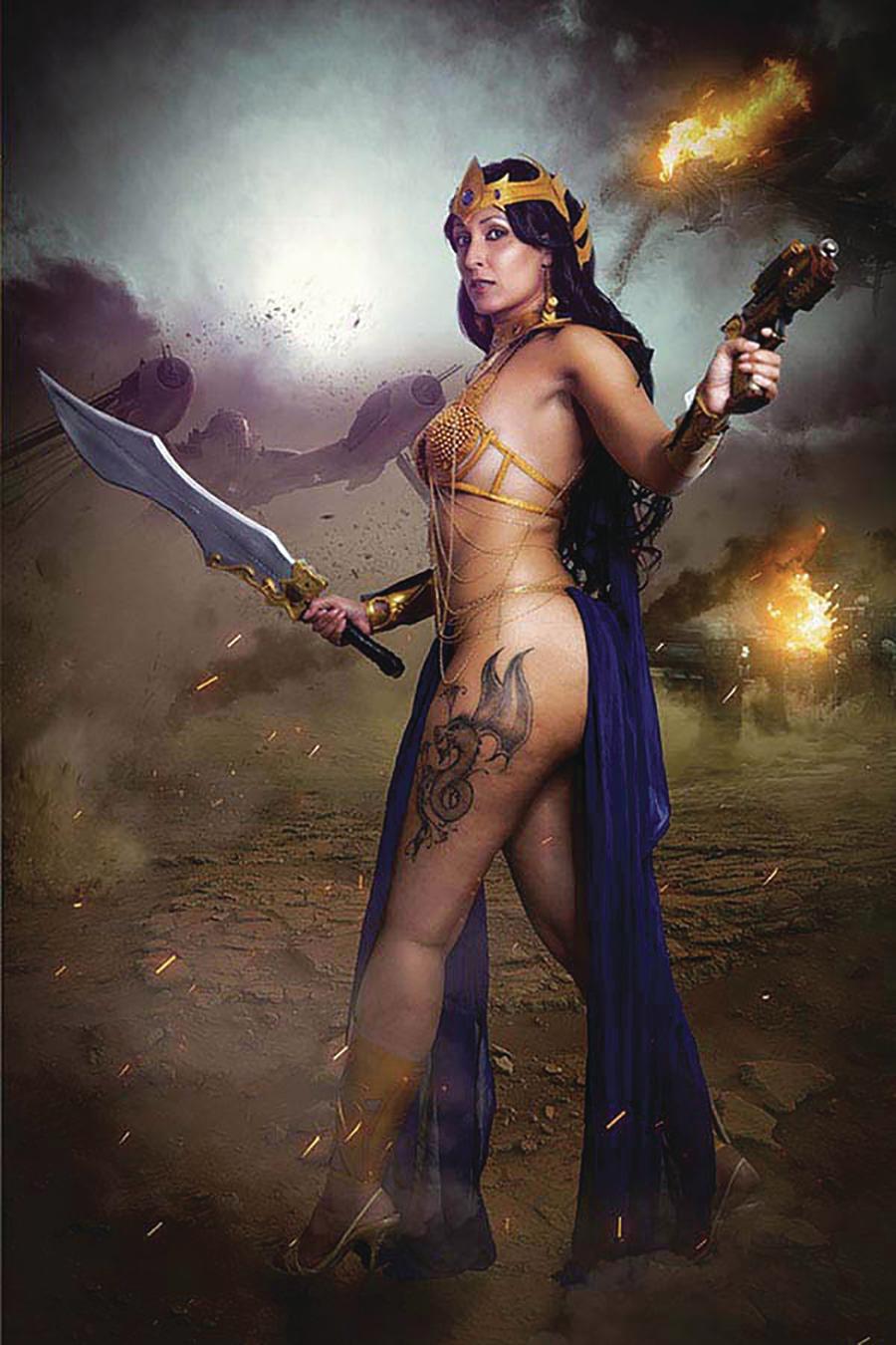 Dejah Thoris Vol 3 #2 Cover O Incentive Tasha Cosplay UK Cosplay Photo Virgin Cover