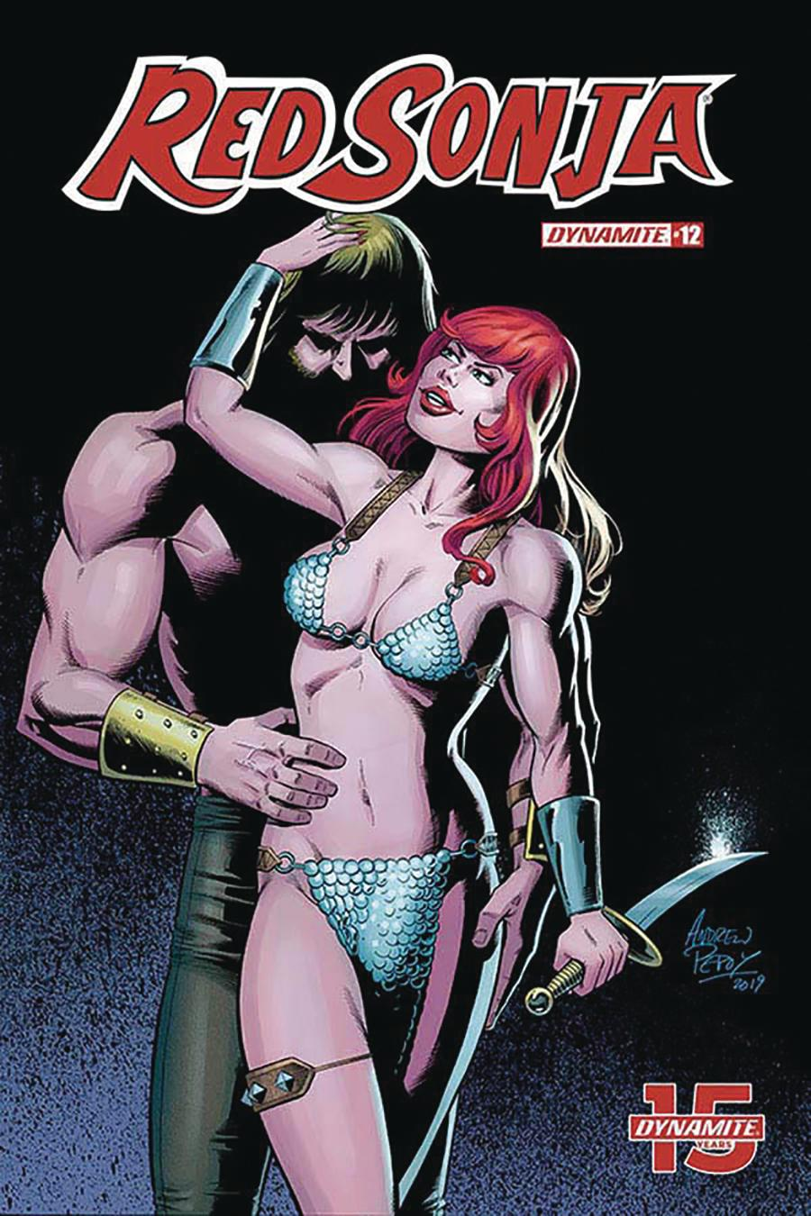 Red Sonja Vol 8 #12 Cover G Incentive Andrew Pepoy Seduction Color Variant Cover