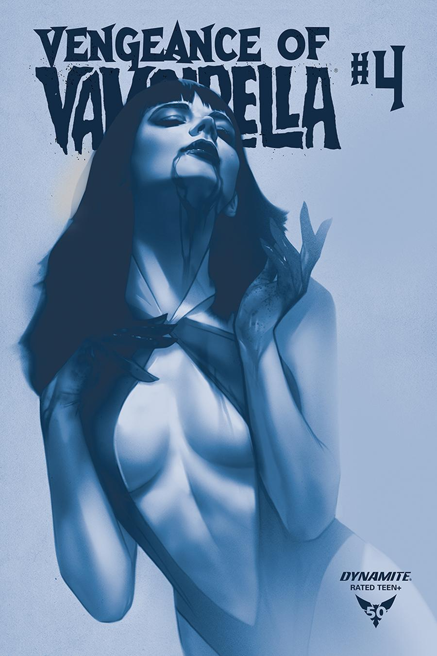 Vengeance Of Vampirella Vol 2 #4 Cover N Incentive Ben Oliver Tinted Cover