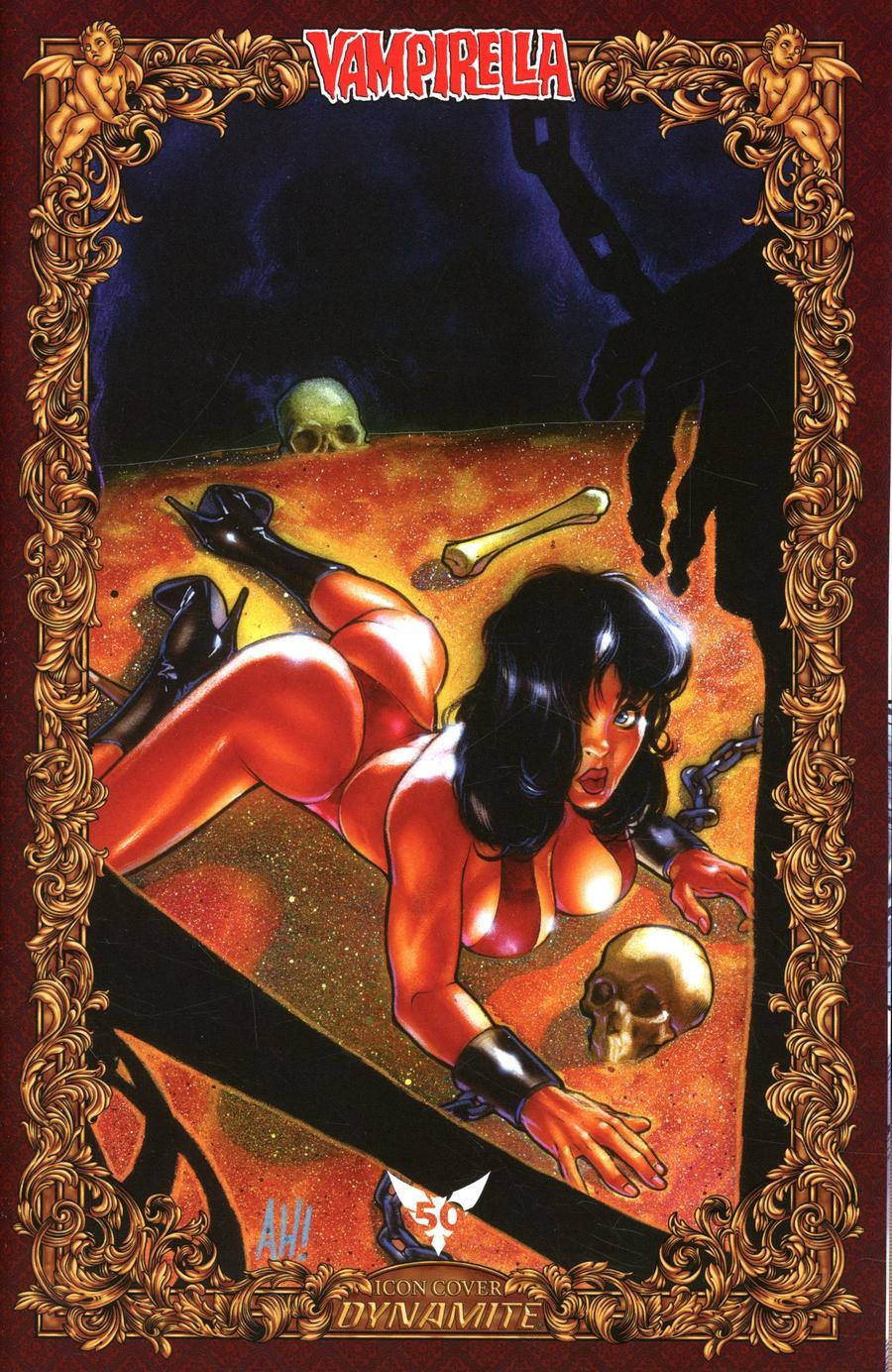 Vengeance Of Vampirella Vol 2 #4 Cover O Incentive Adam Hughes Icon Edition Variant Cover