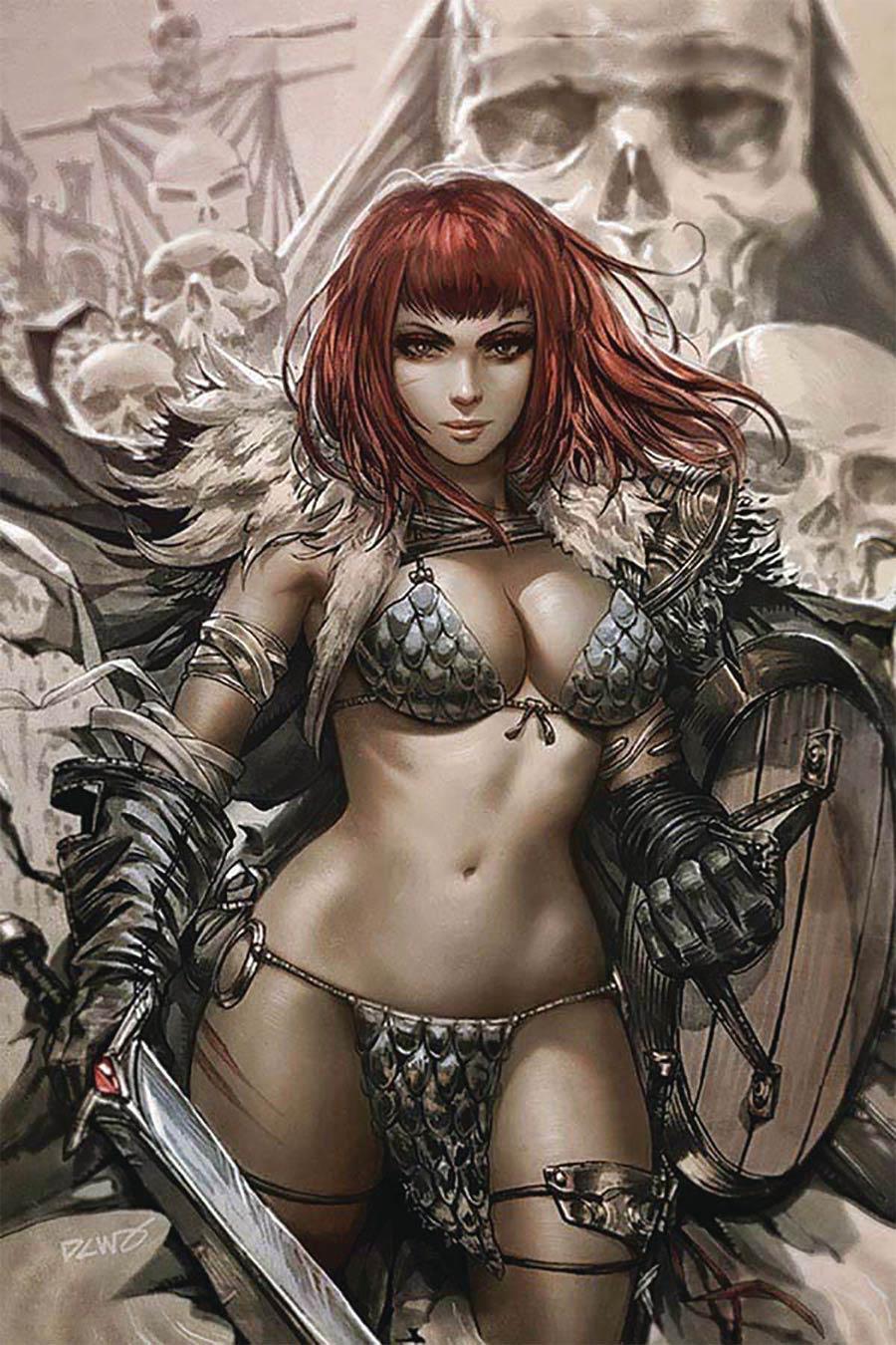 Vampirella Red Sonja #1 Cover T Derrick Chew Exclusive Variant Cover CGC Graded