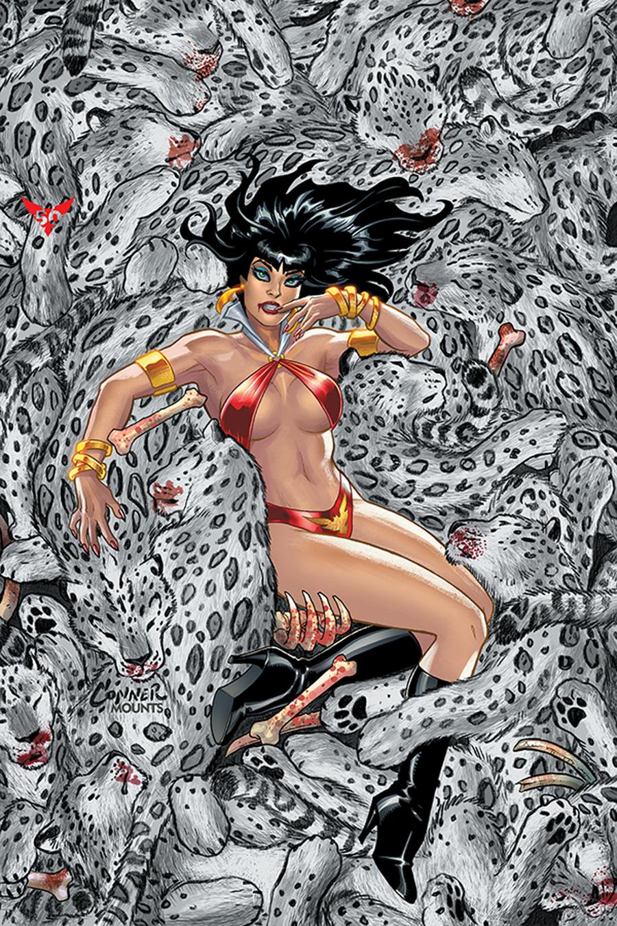 Vampirella Vol 8 #7 Cover U Limited Edition Amanda Conner Virgin Cover