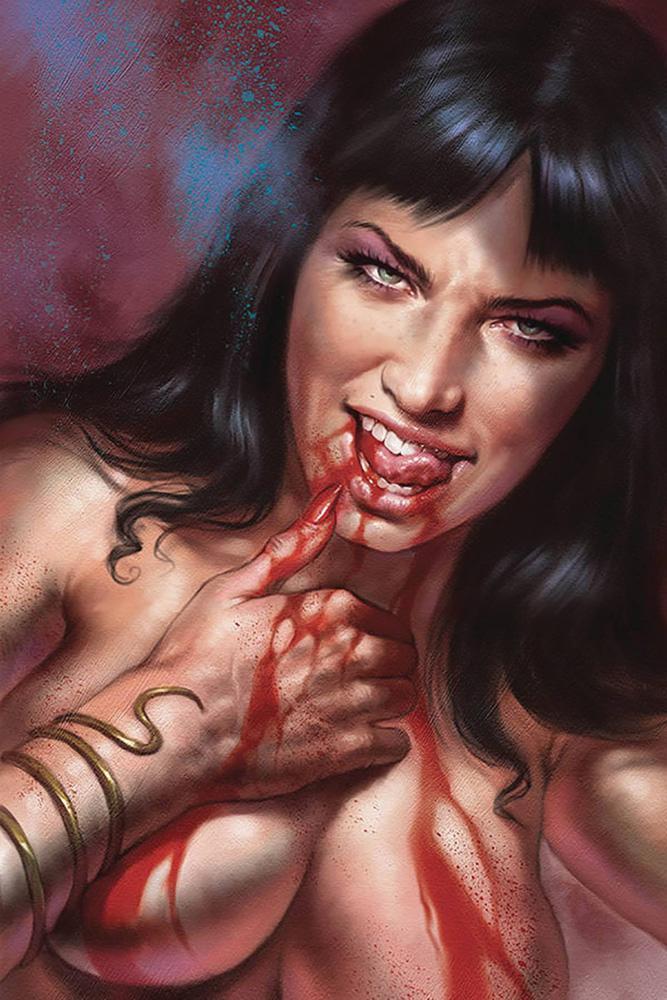 Vampirella Vol 8 #7 Cover V Limited Edition Lucio Parrillo Virgin Cover