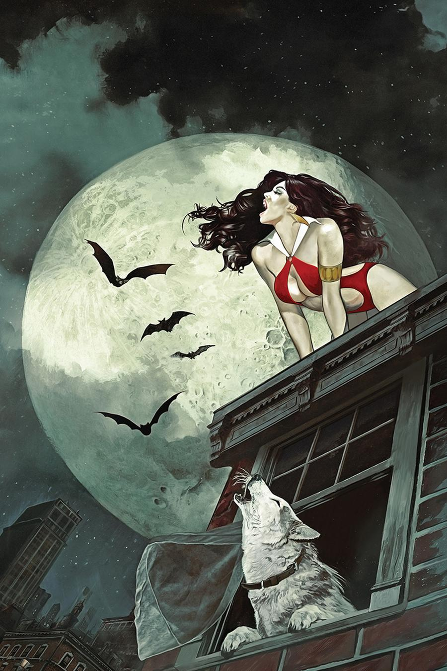 Vampirella Vol 8 #7 Cover W Limited Edition Fay Dalton Virgin Cover