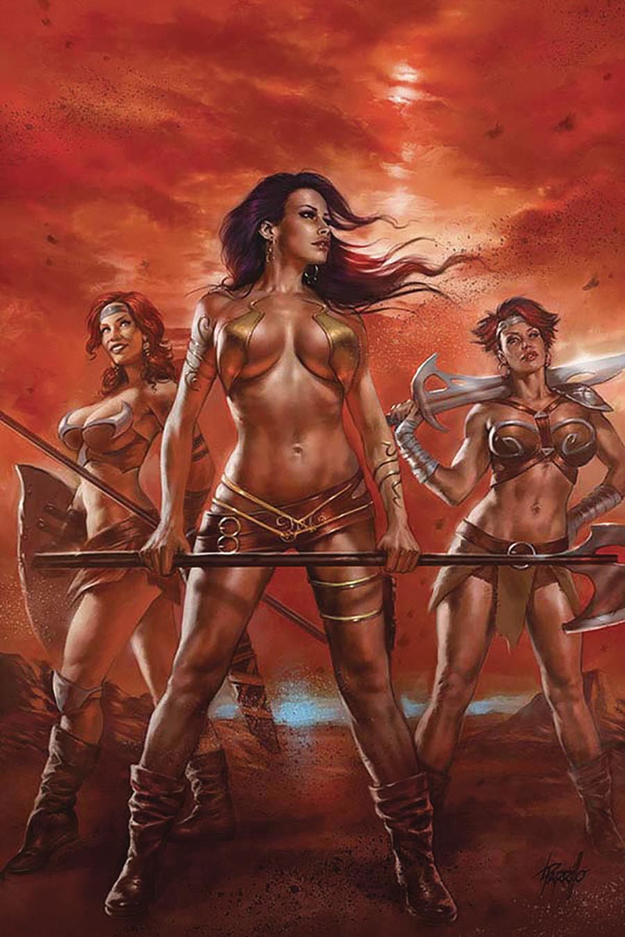 Dejah Thoris Vol 3 #2 Cover S Limited Edition Lucio Parrillo Virgin Cover