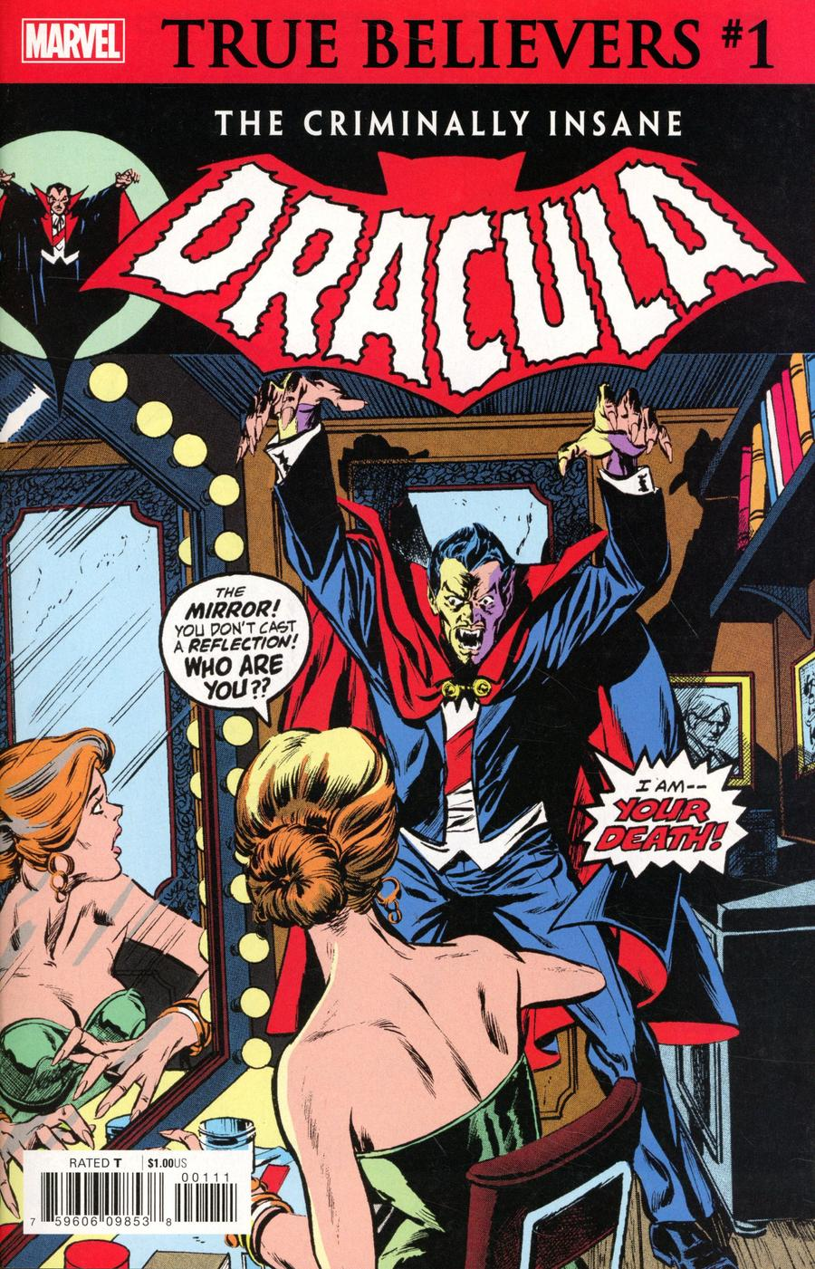 True Believers Criminally Insane Dracula #1