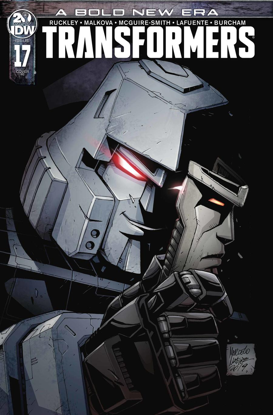 Transformers Vol 4 #17 Cover C Incentive Marcelo Matere Variant Cover
