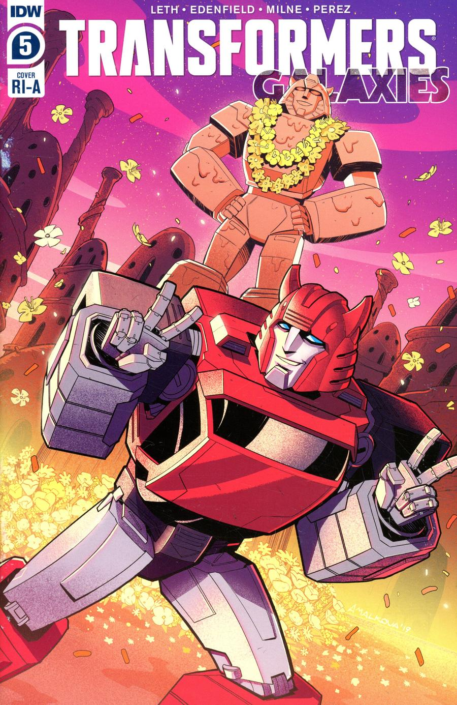 Transformers Galaxies #5 Cover C Incentive Anna Malkova Variant Cover