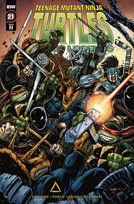 Teenage Mutant Ninja Turtles Urban Legends #21 Cover C Incentive Kevin Eastman Variant Cover