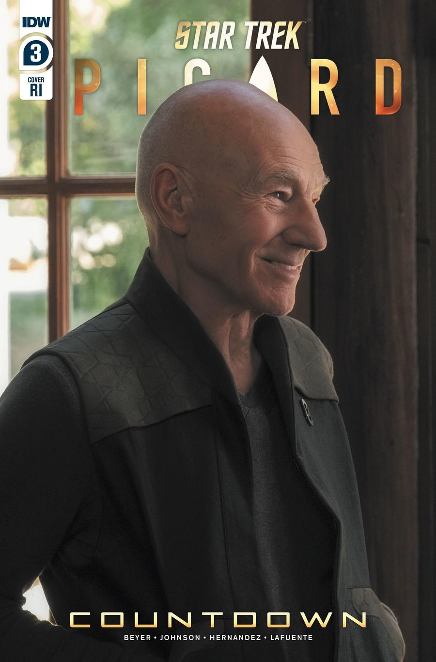 Star Trek Picard Countdown #3 Cover B Incentive Photo Variant Cover