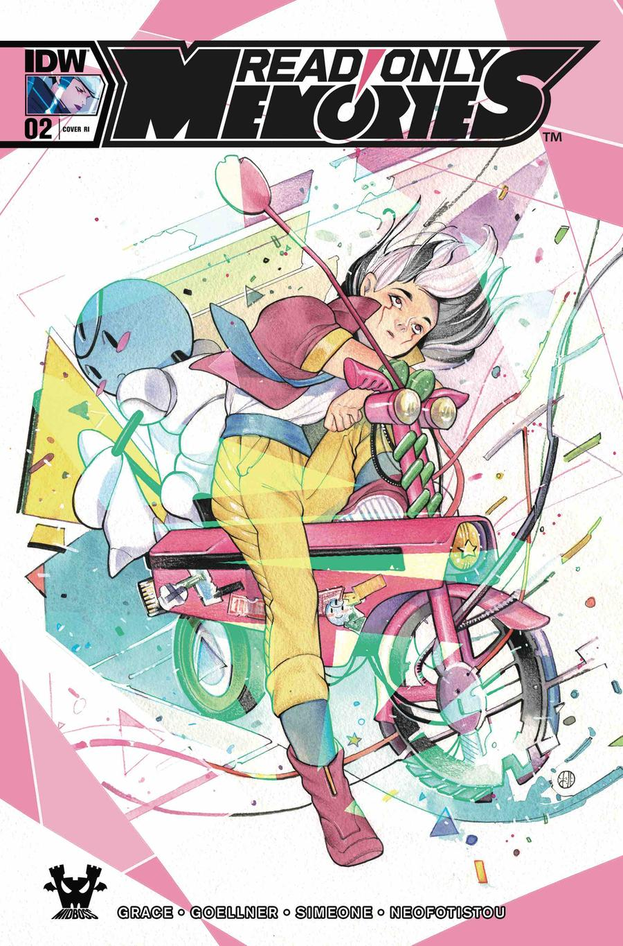 Read Only Memories #2 Cover C Incentive Peach Momoko Variant Cover